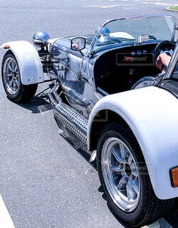ヴィンテージカーの写真・画像素材[4434040]