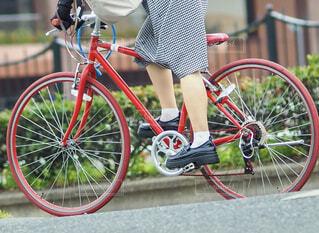 サイクリングの写真・画像素材[4510369]