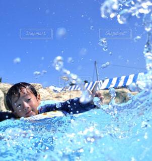 プールの写真・画像素材[4539105]