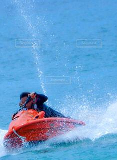 水上バイクの写真・画像素材[4547118]