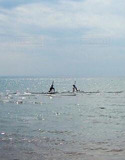 海上ヨガの写真・画像素材[4594723]