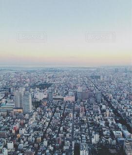 大都市風景のビューの写真・画像素材[1118044]