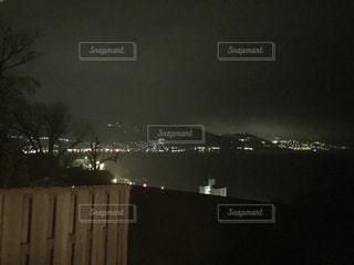 夜の街の景色in熱海の写真・画像素材[1118335]