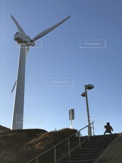 空気中の風車の写真・画像素材[1118408]