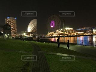 横浜夜景の写真・画像素材[1121840]