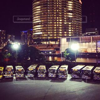 横浜市営バス駐車場の写真・画像素材[1123973]