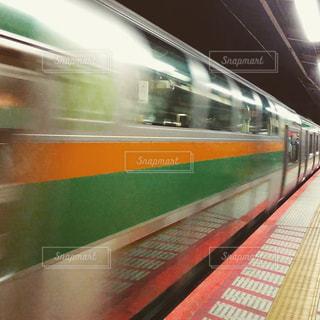 東海道本線グリーン車の写真・画像素材[1124609]