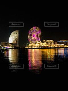みなとみらいの夜景の写真・画像素材[1125860]