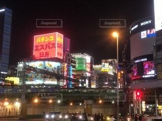夜の街の写真・画像素材[1120733]