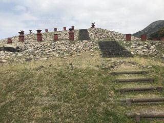 柳井茶臼山古墳の写真・画像素材[1118658]