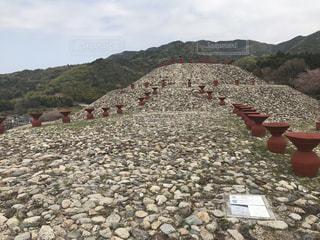 柳井茶臼山古墳の写真・画像素材[1118661]
