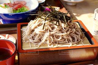 蕎麦定食の写真・画像素材[1137890]