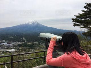 富士山ウォッチングの写真・画像素材[1130720]