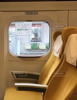 新幹線の車内の写真・画像素材[1127156]