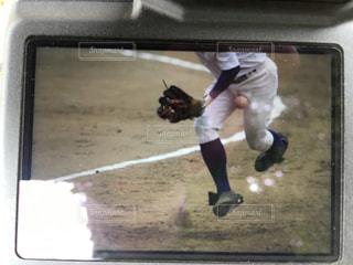 野球で受ける痛み。の写真・画像素材[1127178]
