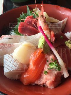 海鮮丼の写真・画像素材[1121517]