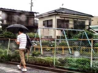 雨の公園☔️の写真・画像素材[1238775]