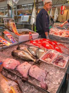 魚市場の写真・画像素材[1607783]