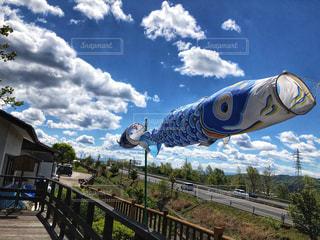 鯉のぼり・平成最後の写真・画像素材[2063529]