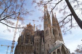 スペインのサグラダファミリア教会の写真・画像素材[1106180]