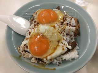 愛媛ご当地グルメ〜焼豚玉子飯の写真・画像素材[1148571]