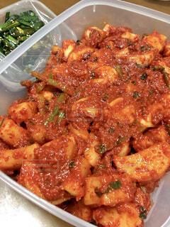 食べ物の皿のクローズアップの写真・画像素材[4364588]