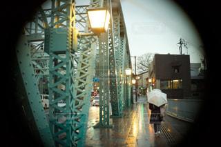 金沢の雨の写真・画像素材[1121024]
