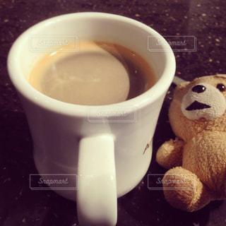 一杯のコーヒーの写真・画像素材[1121463]