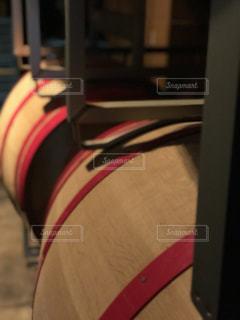 近くにバッグのアップの写真・画像素材[1143661]