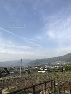 山のビューの写真・画像素材[1143666]