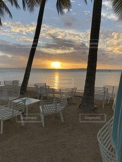 ニューカレドニアの夕日の写真・画像素材[1121617]