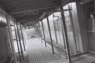 渡り廊下の写真・画像素材[1122950]