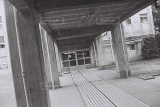渡り廊下の写真・画像素材[1122957]
