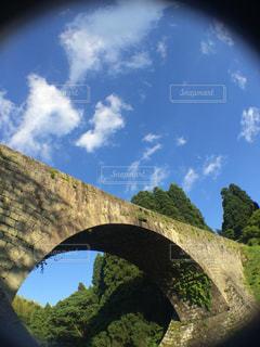 石造りの背景の山の建物の表示の写真・画像素材[1123949]