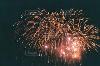 空に花火の写真・画像素材[1443540]