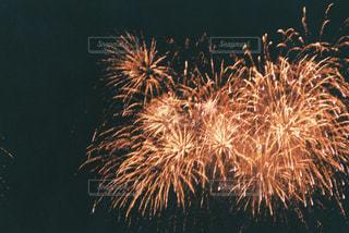 空に花火の写真・画像素材[1443541]