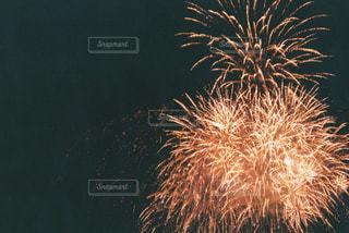 空に花火の写真・画像素材[1443542]