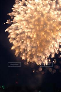 空の花火の写真・画像素材[2334144]