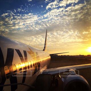 飛行機の眺めの写真・画像素材[2381573]