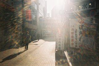 通りのクローズアップの写真・画像素材[2381630]