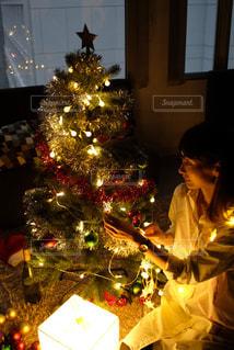 クリスマスイルミネーションの写真・画像素材[2687710]