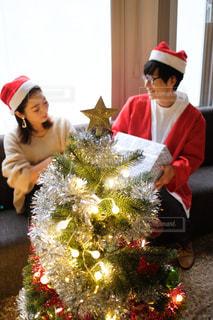 クリスマスパーティの写真・画像素材[2698830]