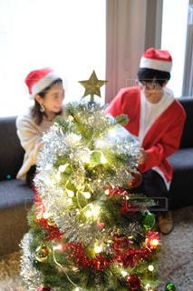 クリスマスパーティの写真・画像素材[2698838]