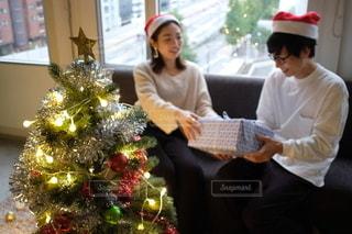 プレゼント交換の写真・画像素材[2698942]