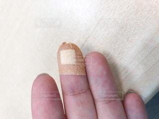 検査後の指の写真・画像素材[3302620]