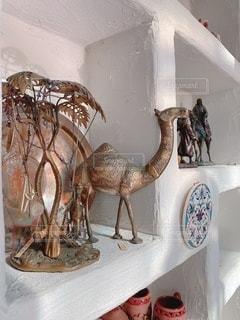 ラクダの置物の写真・画像素材[3561631]