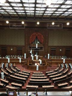 国会議事堂 議場の写真・画像素材[1123093]