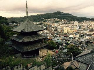 天寧寺の三重塔の写真・画像素材[1123435]