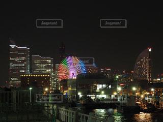 虹色観覧車の写真・画像素材[1128003]
