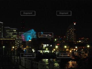 横浜夜景の写真・画像素材[1128004]